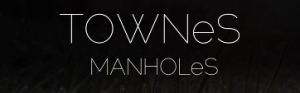 TOWNeS Square Logo with MANHOLeS for Blogs