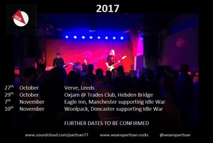 partisan live dates