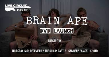 brain ape dvd show
