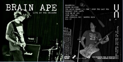 Brain Ape DVD